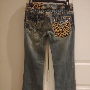 Miss Me Jeans Size 26 inseam inseam 31